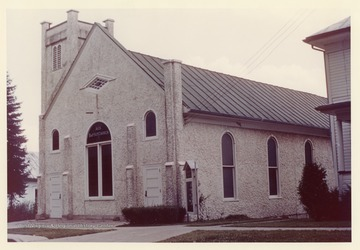 The church was organized in 1825.  It was originally named Mab Zeal Baptist Church. The church was remodeled and enlarged in 1925.