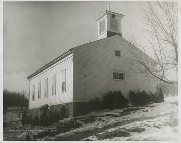 The church was organized in 1818.