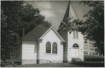 The chapel was built in what was then Williamsport, Virginia, twenty years before West Virginia became a state. The building served as a Methodist Protestant church until the Union of Methodist Churches in 1939. In 1947, the church and its grounds were sold to the Industrial School and was designated the school's institutional chapel.