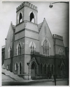 The church was established in 1858.