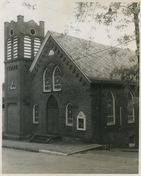 The church was organized in 1855 in what was then known as Fetterman, Virginia. During the church building's construction, services were held in the carpenter shop of the Baltimore & Ohio Railroad Company in Grafton.