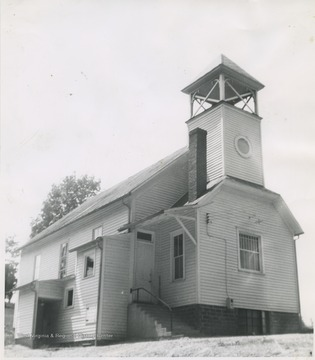 The church was established in 1853 and is located less than two miles east of Buckhannon, W. Va off Staunton Turnpike, United States Highway 33, and West Virginia Route 4.