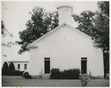 The church was established in 1819.