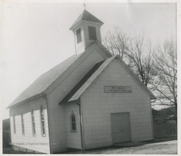 The church was established by the community in 1852.