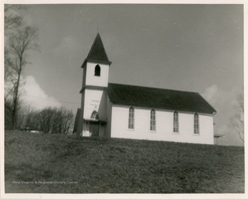 The church was organized in 1835.  The first church was built in 1881. The current church was built in 1913.