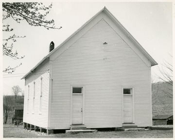 The church was organized in 1852. The present church frame building was built in 1880.