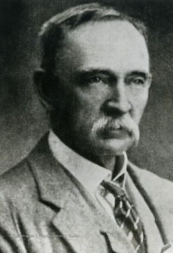 A portrait of Fredrick Hugh Barber. His work assisted Edward C. Tabler with research.