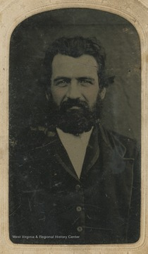 Portrait of Anthony Lightner, who was a private in the 31st Virginia during the Civil War.