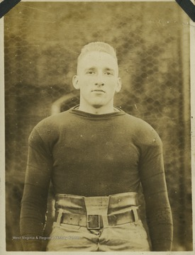Hite ('18) was a halfback for West Virginia University's Mountaineer football team. During the 1917 season, Hite enlisted in the First Officers Training Camp after the United States declared war and was commissioned as a lieutenant. In his absence, the team elected Russell Bailey as the captain of the team. Russell came to WVU from Huntington High and was well-known as an excellent athlete.