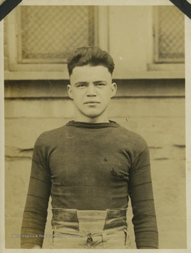 "Russell ""Rus"" Bailey ('19) was elected captain of the West Virginia University Mountaineers after the original captain, Clay Hite, enlisted in the army. Bailey led his team to a winning season in 1917, with a season record of 6-3."