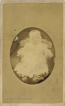 Portrait of baby Cox.
