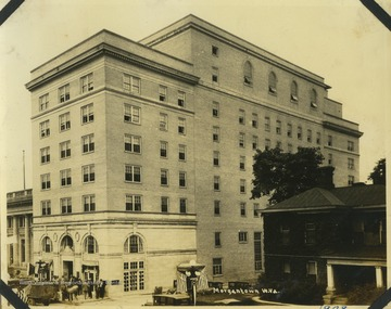 The Hotel Morgan opened on High Street in Morgantown in 1925