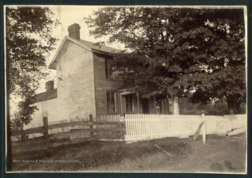 A view of the old Anderson home, located on University Avenue in Star City.