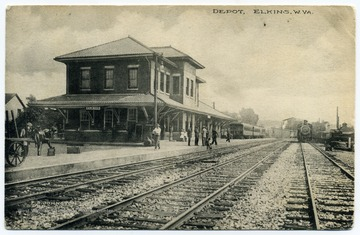 This depot was located on the Western Maryland Railroad.